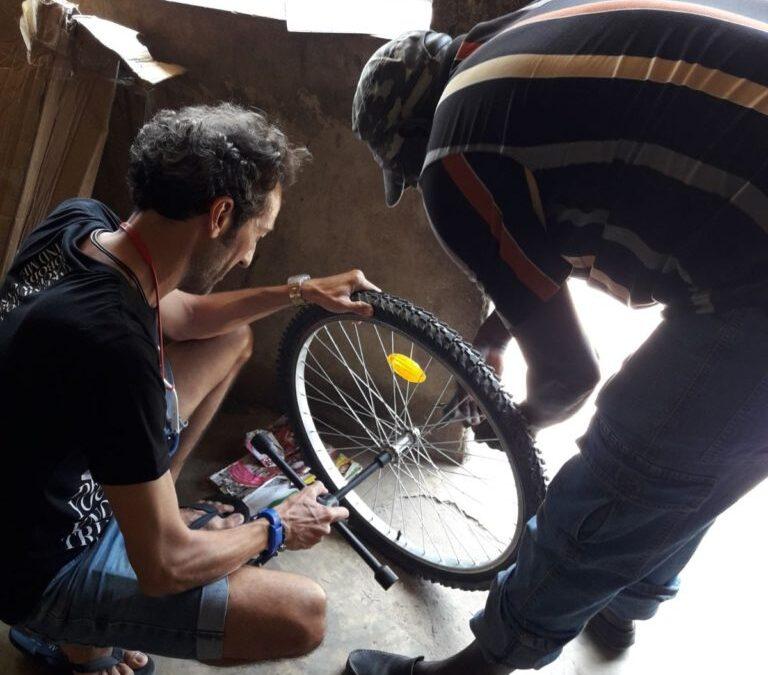 Una bicicleta para la Casamance